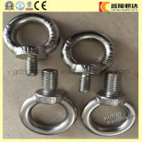 Drop Forged Rigging Stainless Steel Galvanized Lifting DIN580 Eye Bolt