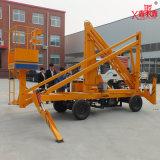Plataforma de trabajo móvil hidráulica para camiones