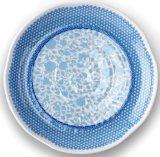 Blauw van het Vaatwerk van de Schotel van de Melamine van de Groothandelsprijs het bPA-Vrije Grote Dienende