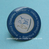 Pin inoxidável Bagdge de Steel Full Color Printing para Promotion