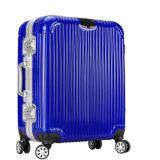2016新しいABS+PCの荷物のアルミニウムフレーム、転送の荷物、スーツケースWith22、26