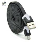 Цветастые кабель Sync данным по USB 2.0 Micro поручая для телефона и таблетки Samsung Android
