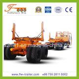 2axle de Aanhangwagen van het Vervoer van het hout