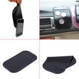 De zwarte AntislipMat van het Gel van het Kiezelzuur van het Dashboard van de Auto voor de Mobiele Telefoon van de Auto