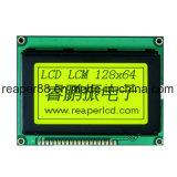 Construit dans le module graphique d'affichage à cristaux liquides d'ÉPI du vert jaune 128X64 du contrôleur Nt7107 Stn