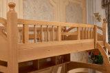 Cama de cucheta de madera sólida de los niños de las camas de cucheta del sitio de la cama (M-X2209)
