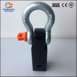 Rugged Ridge Support de remorquage Hitch D-Ring Shackle Bracket