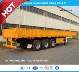 Semitrailer da parede lateral de 3 eixos ou reboque do caminhão da parede lateral Semi