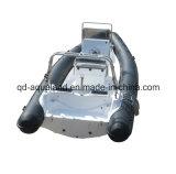 Barco de motor de la costilla de Aqualand 25feet/barco de pesca inflable rígido (RIB750B)