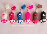 PVC de alta calidad promocional plástico 3D llave USB (USB-018)