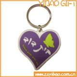 Encadenamiento dominante del PVC de la venta caliente/Keychain para los regalos promocionales (YB-k-005)