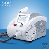 Q schakelde de Zachte Apparatuur 2000 Mj van de Salon van de Schoonheid van de Machine van het Vlekkenmiddel van de Pigmentatie van Lipline van de Wenkbrauw van de Verwijdering van de Tatoegering van de Laser van Nd YAG