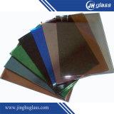 建物のための6mmの平らなヨーロッパの青銅によって薄板にされる反射ガラス