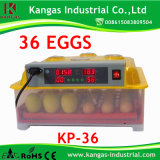 Incubateur approuvé d'oeufs de la CE mini à vendre (KP-36)