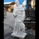 Scultura di marmo per la decorazione domestica Ms-120
