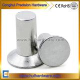 Rebites DIN661 contínuos principais escareados alumínio para anunciar o sinal