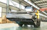装甲車輪のローダーWs60のスキッドの雄牛のローダーの構築機械小型ダンプ