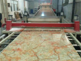 PVC Decorative Wall Panel de 1220mm, Marble Sheet Production Line