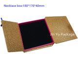 Jy-Jb98金のボール紙のペーパーギフトの宝石類のイヤリングボックス卸売