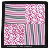 Soem-Erzeugnis passte Firmenzeichen gedrucktes förderndes Baumwollbandanna-Kopftuch an