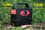 150Wh Mini Sonnensystem Portable Solar Power Generator für Home Emergency / Outdoor