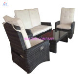 [هز-بت132] حارّ عمليّة بيع أريكة خارجيّة [رتّن] أثاث لازم مع كرسي تثبيت طاولة [ويكر] أثاث لازم [رتّن] أثاث لازم لأنّ [ويكر] أثاث لازم