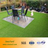 Дерновина пряжи формы прямоугольника искусственная для домашнего сада