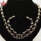 &#160 ; La mode perle le bijou en matériau magnétique d'hématite