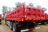 Carro de vaciado pesado del descargador del camión de Sinotruk HOWO 8X4