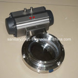 Flange sanitario Butterfly Valve per Good Quality Food Industry