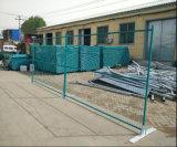 Painel provisório revestido alaranjado provisório da cerca da segurança Fence/6foot*10foot de Canadá