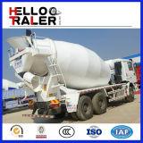 Sinotruk de HOWO 6 x 4 camion du mélangeur 8m3 concret pour l'Asie, l'Amérique du Sud et l'Afrique