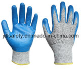 Couper le gant résistant de travail avec des nitriles (ND8032)