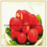 A cereja enlatada da fruta enlatada não pitted nenhuma haste/com haste