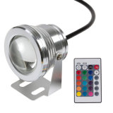 piscina Light do diodo emissor de luz de 15W AC12V Stainless RGB Control