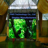 Visualización de LED a todo color publicitaria de interior de alquiler (pantalla del LED, muestra del LED)