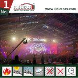 [50م] عرض خيمة شفّافة علبيّة ضخم [هلّ] مع [ولّينغ] زجاجيّة لأنّ 10000 الناس حفل موسيقيّ حادث