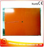 230VセリウムRoHSが付いているカスタムワット数及びサイズ及び形のシリコーンゴムの産業ヒーター