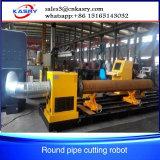 5 CNC van het Vloeistaal van de as het Knipsel van de Pijp van de Kruising en de Fabrikant van de Machine Beveling