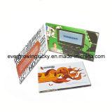 Чтения детей видео-плейер 4.3 дюймов Брошюр-Люкс & книга приветствию Comics/LCD/видео- брошюра