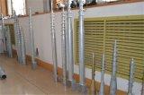 Double armature intra-artérielle solaire de bloc de boulon d'anchrage de lame et d'attache