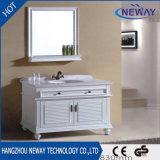Konkurrenzfähiger Preis-festes Holz-Badezimmer-Möbel mit Spiegel