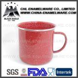 400ml diplomati FDA professionale rotolati bordano la tazza su ordinazione dello smalto