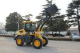 El CE de la marca de fábrica de Hongyuan certificado articuló el cargador compacto de 1.6 toneladas