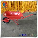 65L 4.5CF Indonésia e carrinho de mão de roda da ferramenta da construção do estilo de Singapore
