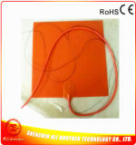 termistor 100k adesivo do calefator 120V 500W 3m da borracha de silicone do calefator da impressora 3D de 320*320*1.5mm