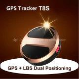 Perseguidor personal del GPS con el seguimiento del tiempo real (T8S)