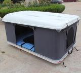 道SUVのキャンプテントの堅いシェルのガラス繊維車の屋根の上のテントを離れた4X4アクセサリ4WD