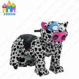 InnenOutdoor Zippy Milk Cow Kids Park Toy Animal Car für Sale