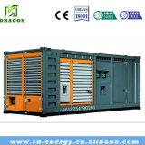 planta del biogás de la cogeneración de CHP 200kw